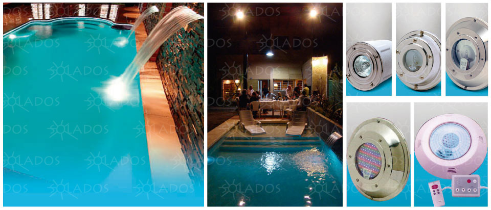 Solados pools iluminaci n de piscinas opticas leds for Solados para piscinas